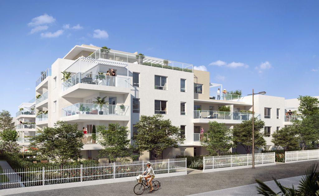 Programme immobilier Marseille 9ème (13009) Environnement de vie agréable VIN11