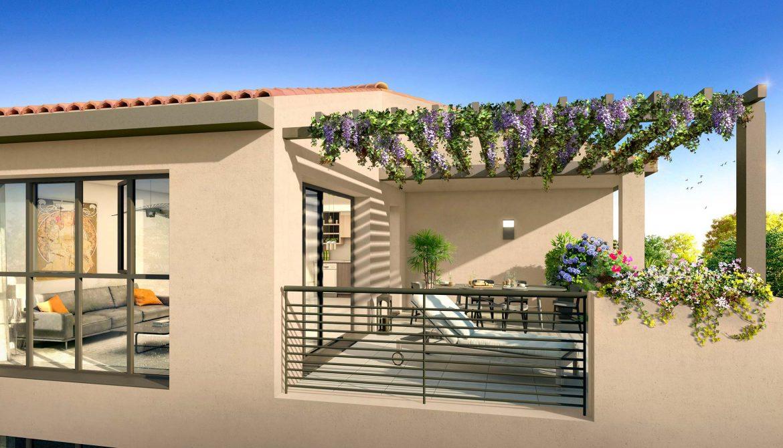 Programme immobilier ALT79 appartement à Puyricard (13540) En harmonie avec son environnement paisible