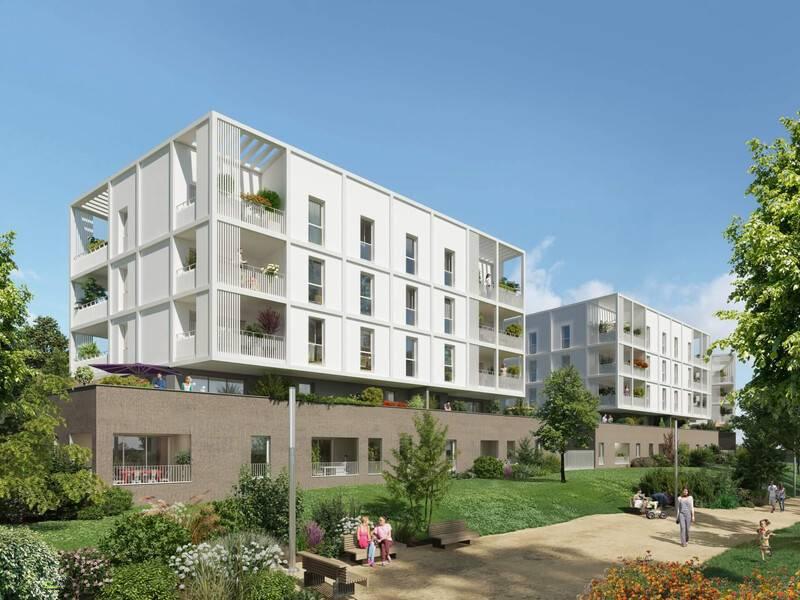 Programme immobilier Marseille 14ème (13014) Les Hauts de Sainte-Marthe QUA4