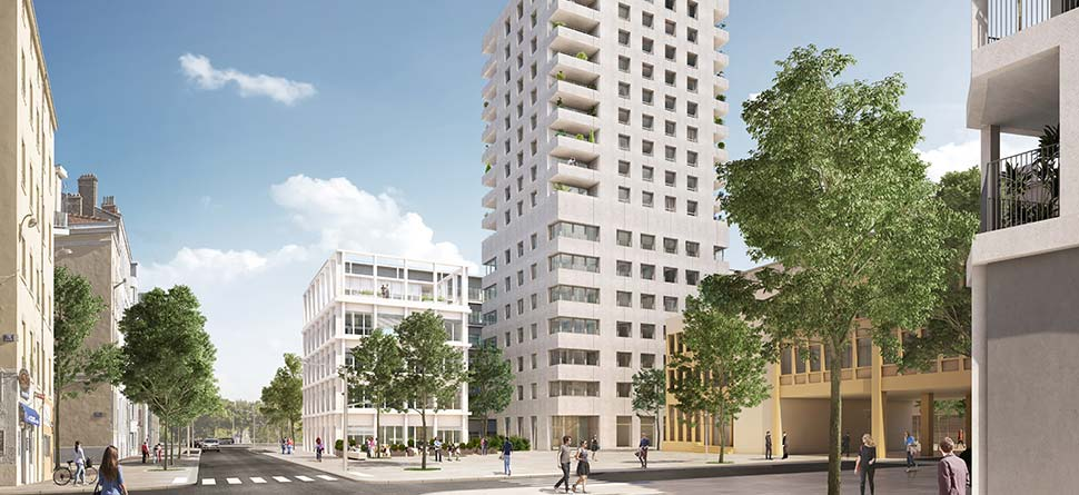 Programme immobilier Lyon 2ème (69002) Une adresse au cœur de la Confluence VAL13