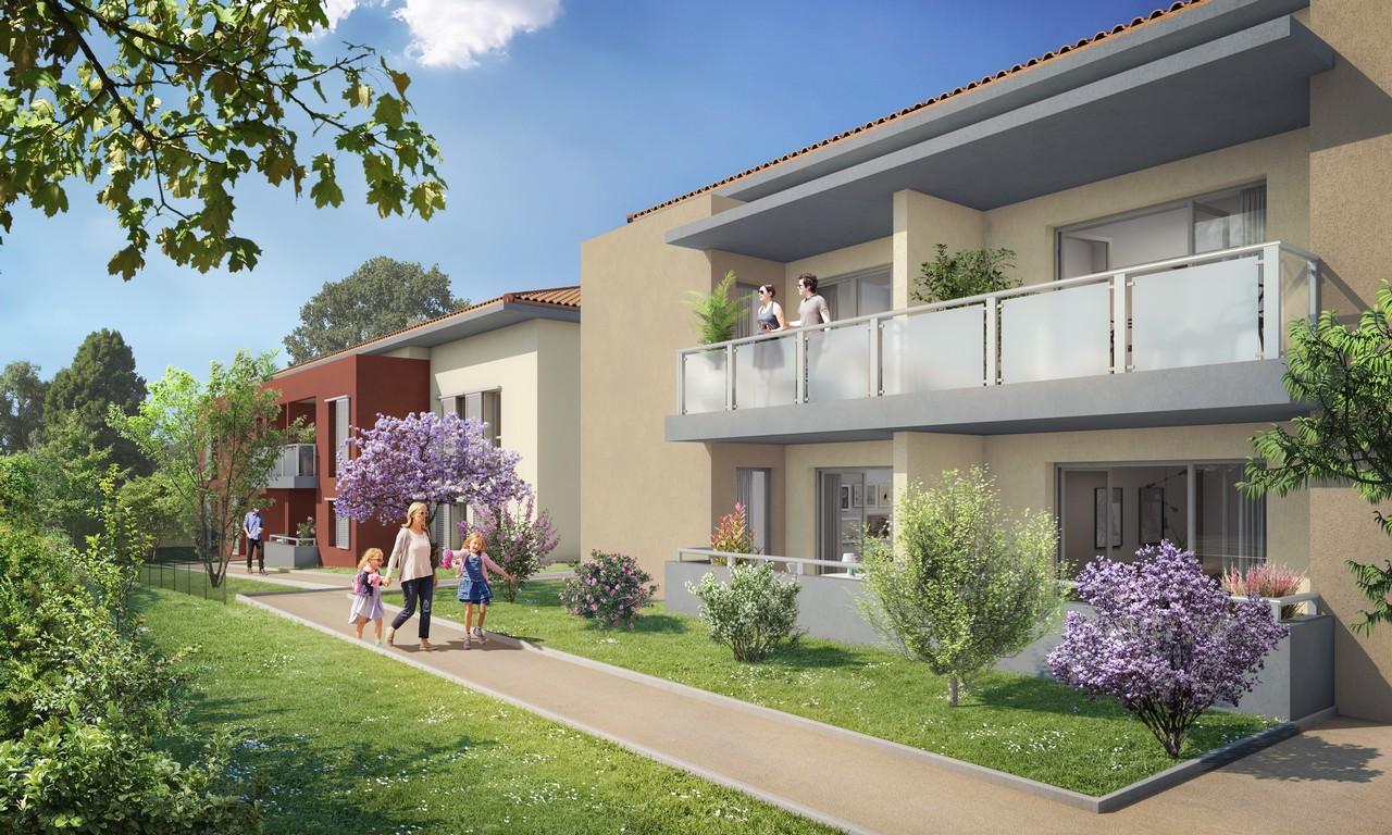 Programme immobilier URB23 appartement à Cogolin (83310) Environnement naturel exceptionnel