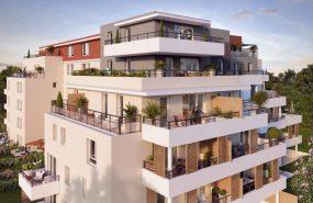 Programme immobilier LNC30 appartement à Marseille 10ème (13010) Résidence privée avec parc boisé classé