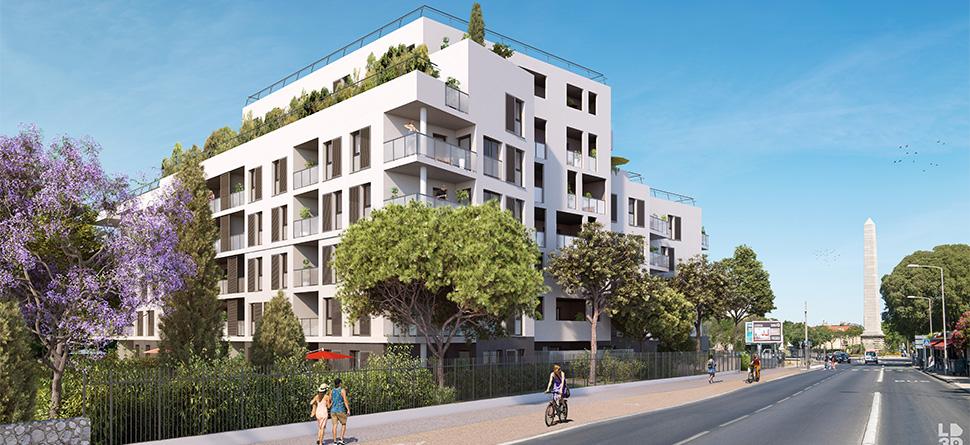Programme immobilier Marseille 9ème (13009) À deux pas de l'obélisque VIN11