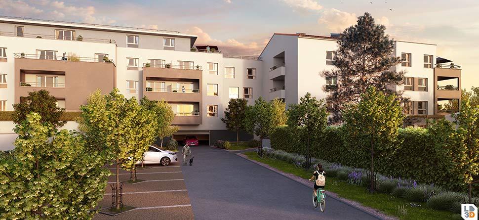Programme immobilier Marseille 11ème (13011) Au cœur du quartier La Valbarelle ALT63