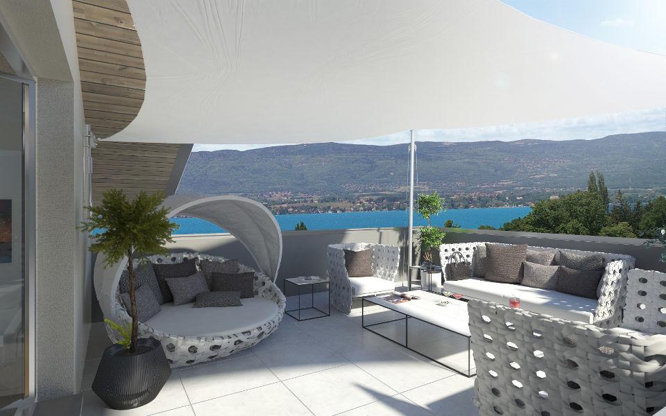 Programme immobilier CAP10 appartement à Messery (74140) Résidence intimiste et sécurisée