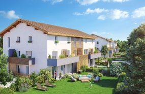 Programme immobilier EUR17 appartement à Anthy-Sur-Leman (74200) Situé dans un terrain confidentiel