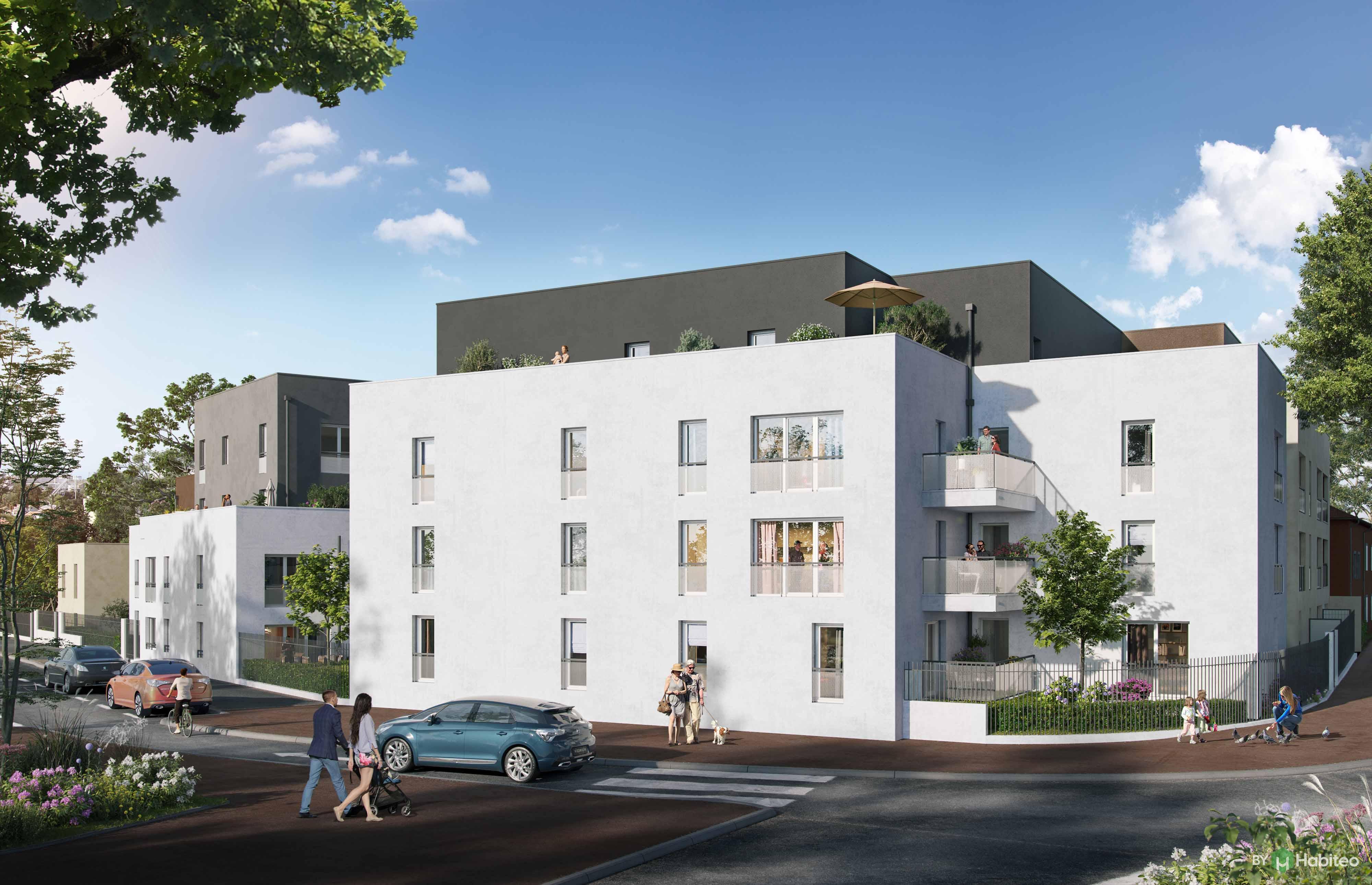 Programme immobilier Vénissieux (69200) Enclaves vertes et de belles avenues arborées LNC2