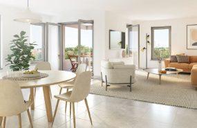 Programme immobilier NEO13 appartement à Chaponost (69630) En plein centre du village
