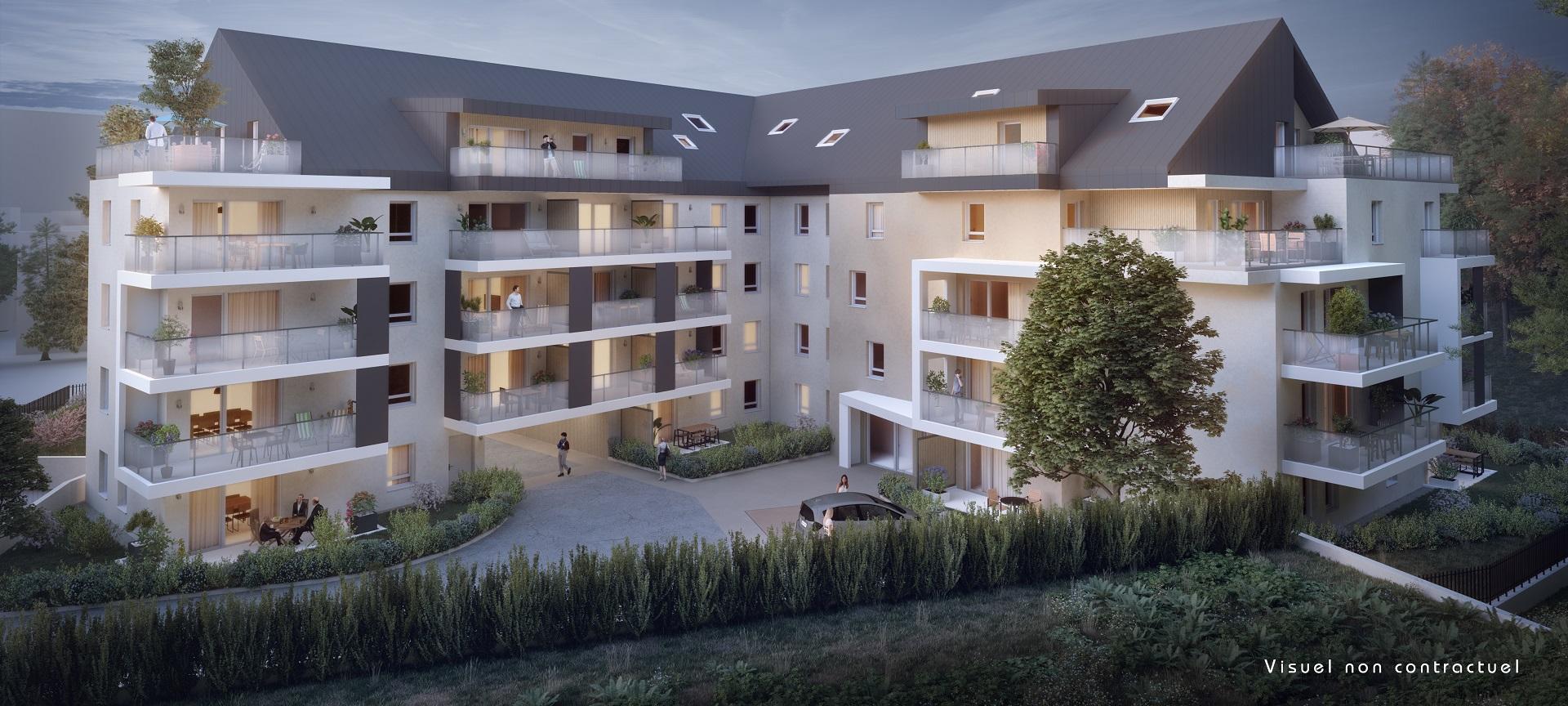 Programme immobilier EDE10 appartement à Chambery (73000) Tout proche du cœur de ville
