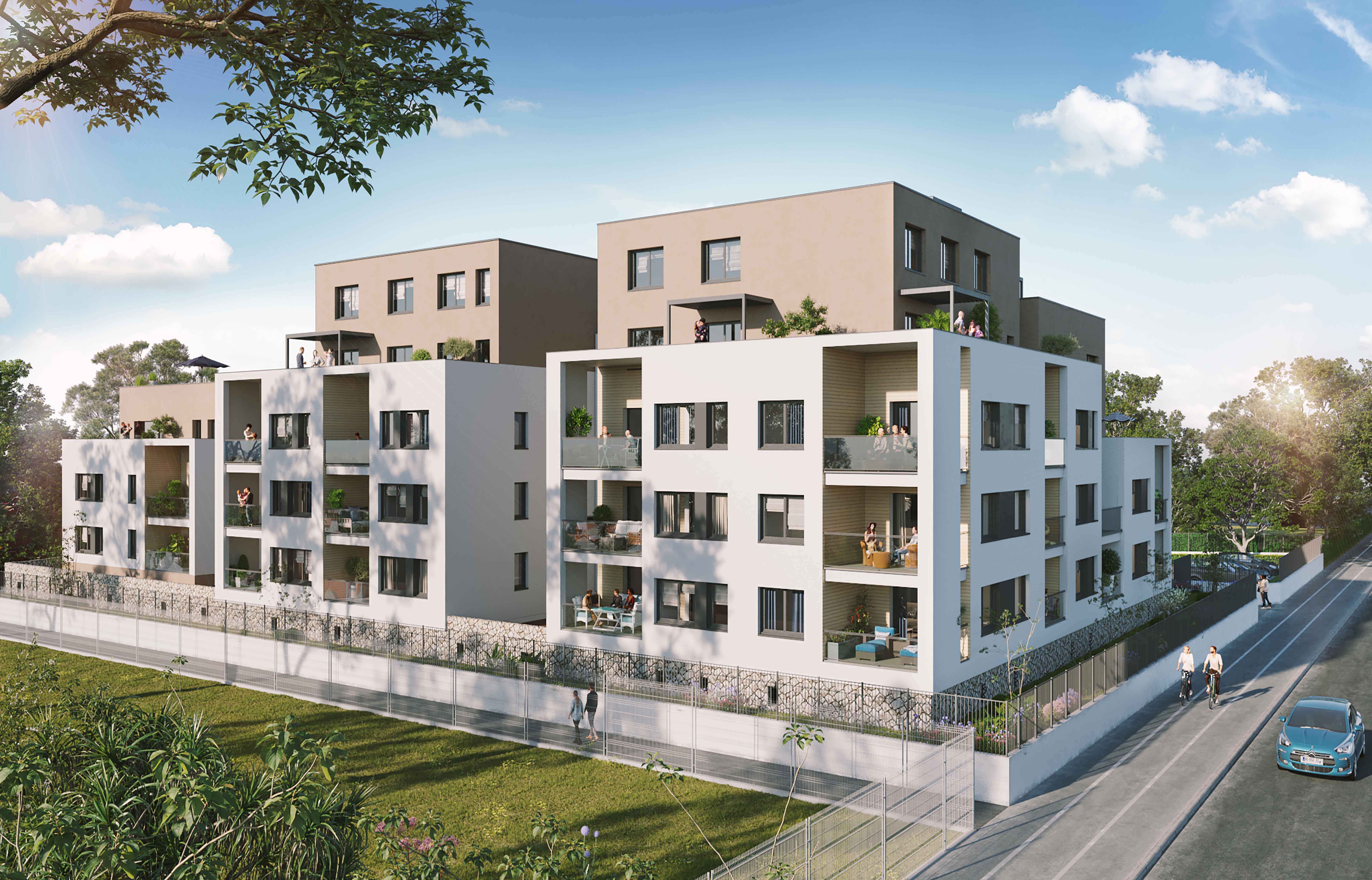 Programme immobilier Grenoble (38000) Une Oasis de verdure au pied des montagnes CO5