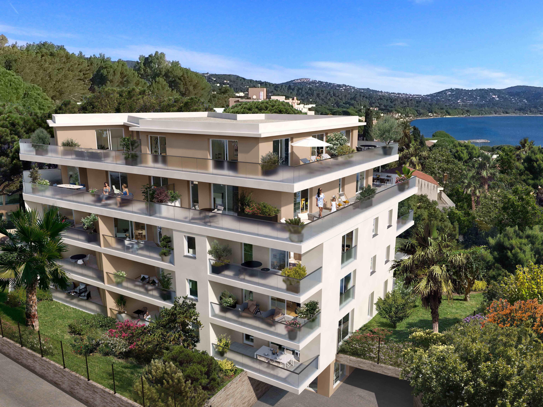 Programme immobilier Cavalaire Sur Mer (83240) À proximité immédiate de la plage PI19
