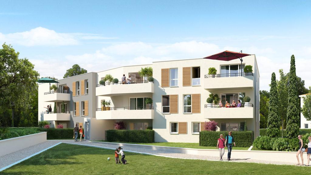 Programme immobilier LNC32 appartement à Vitrolles (13127) Quartier en plein essor