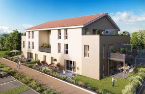 Programme immobilier LNC14 appartement à Chasse-sur-rhone (38670) Coeur historique de Chasse