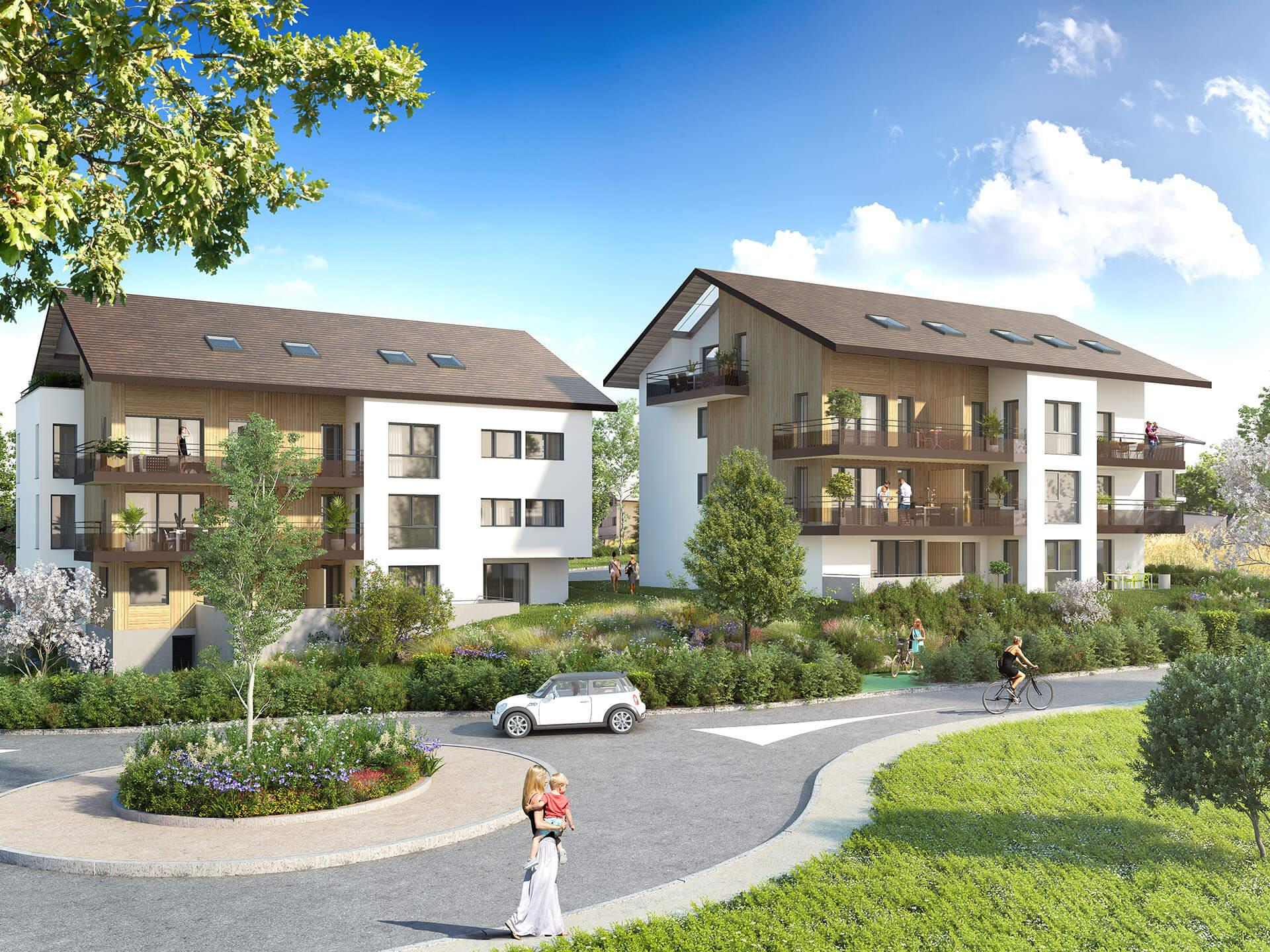 Programme immobilier Vulbens (74520) Un cadre de vie exceptionnel KAB24