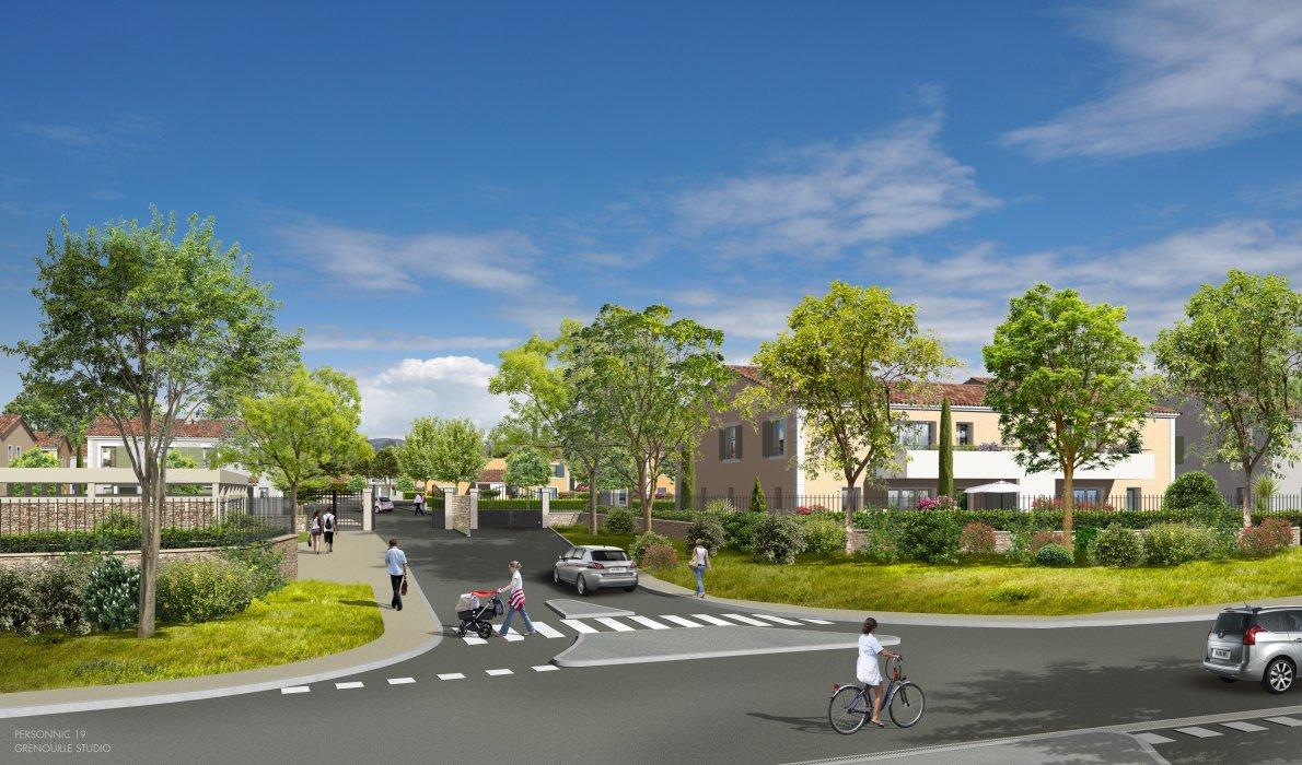 Programme immobilier VIN24 appartement à Pertuis (84120) Quartier pavillonnaire neuf et sécurisé