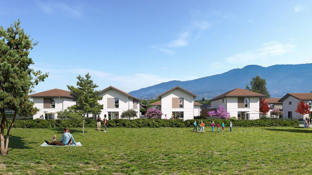 Programme immobilier LNC31 appartement à Beaumont (74160) Dans le quartier « Le Châble »