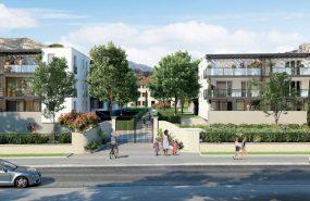 Programme immobilier LNC26 appartement à Roquevaire (13360) Quartier en plein développement de Saint-Roch