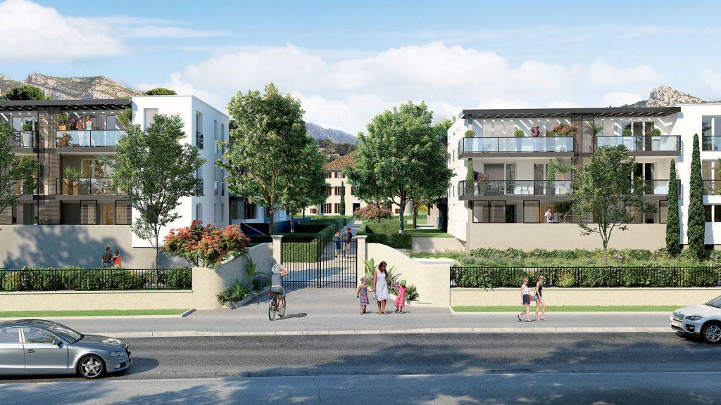 Programme immobilier Roquevaire (13360) Quartier en plein développement de Saint-Roch VAL102