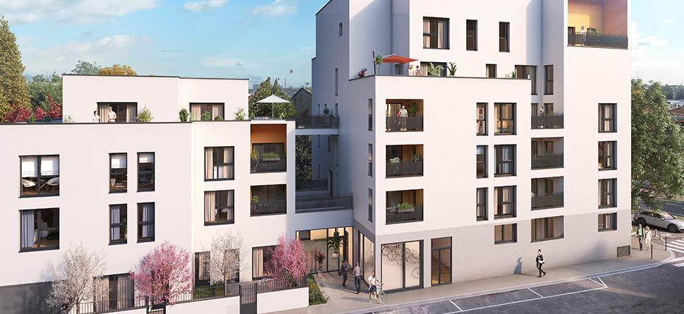 Programme immobilier Lyon 8ème (69008) Dans le secteur calme de SANTY BOW2