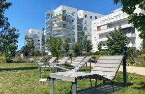 Programme immobilier ALT81 appartement à Villeurbanne (69100) Espaces extérieurs agréables