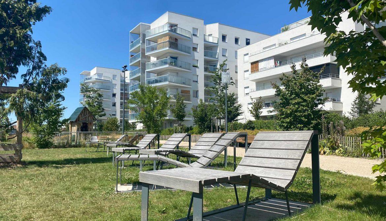 Programme immobilier Villeurbanne (69100) Espaces extérieurs agréables ALT80