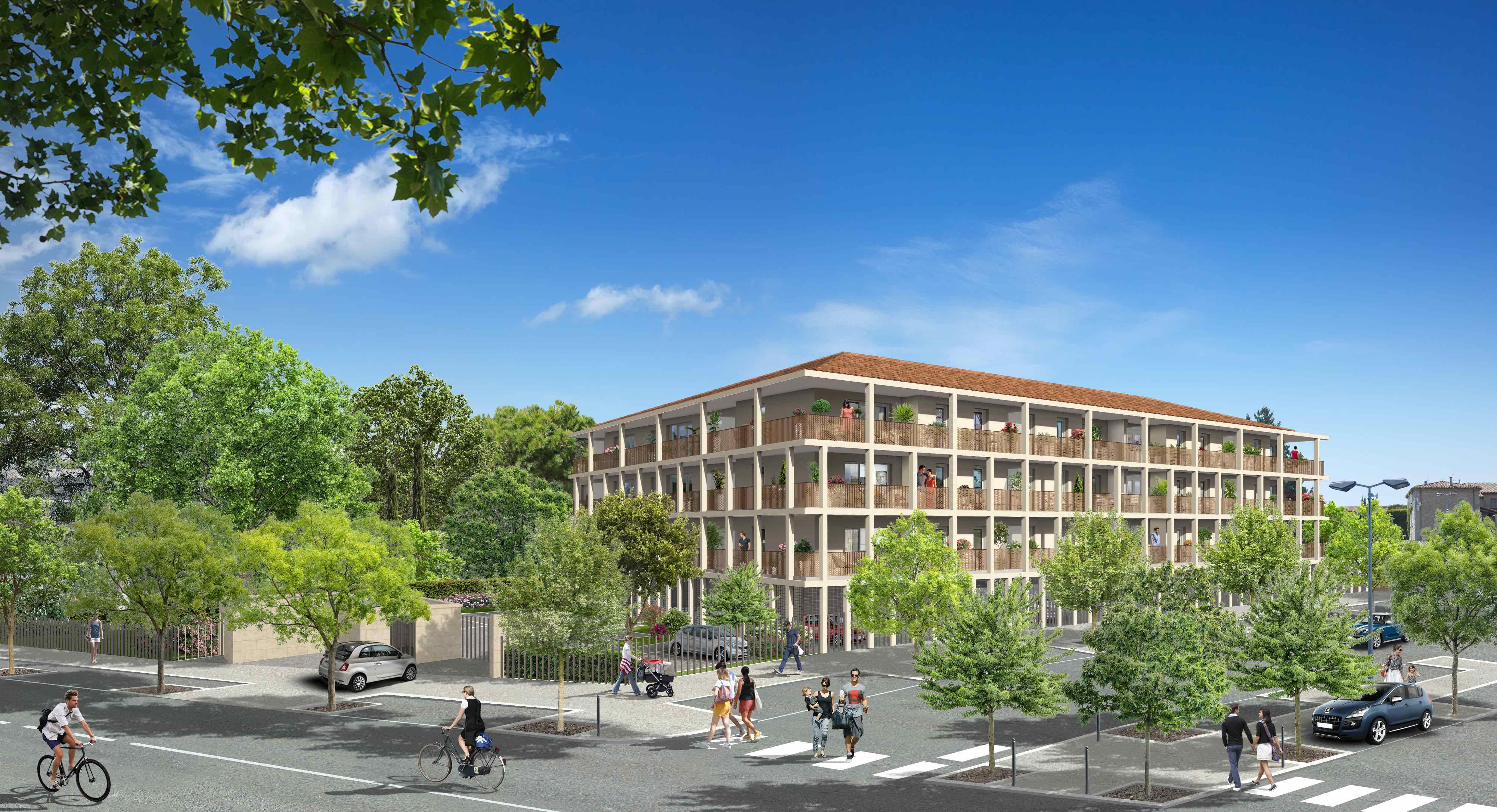 Programme immobilier VAL120 appartement à Trets (13530) Résidence à taille humaine