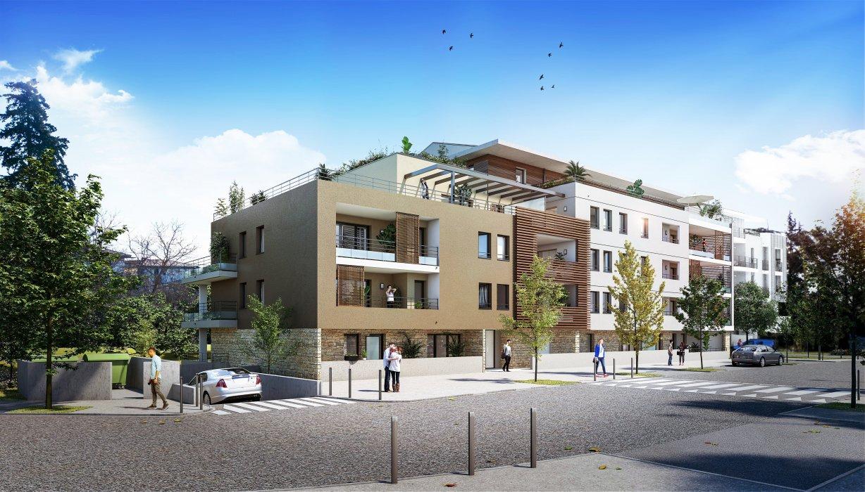 Programme immobilier VIN20 appartement à Aix-En-Provence (13100) Quartier Sainte-Anne