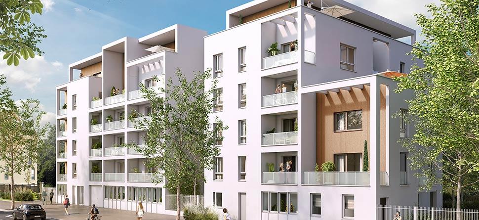 Programme immobilier Vénissieux (69200) Vénissieux village EDO20