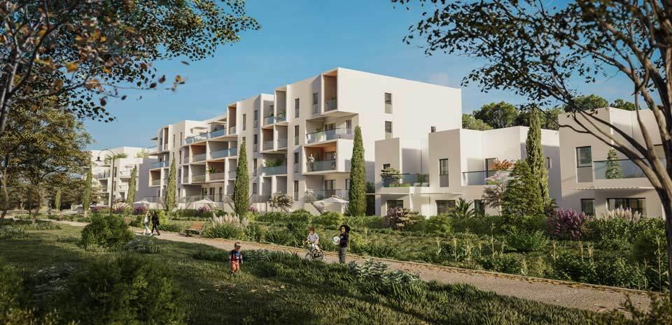 Programme immobilier PI33 appartement à Avignon (84140) Au sein de l'éco-quartier Joly Jean