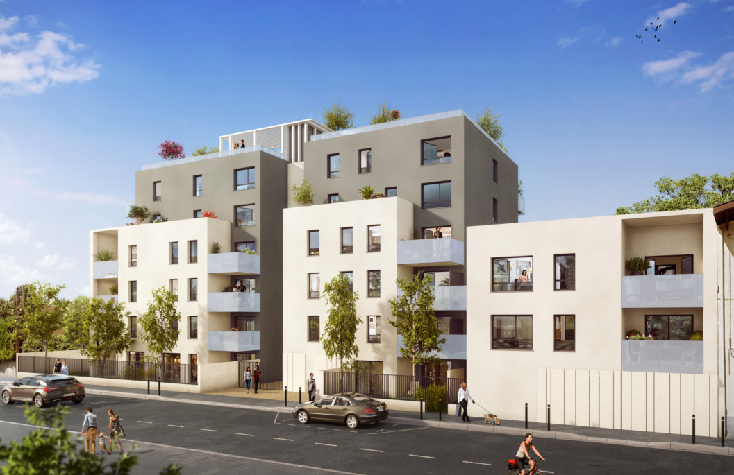Programme immobilier Villeurbanne (69100) Quartier Gratte Ciel VAL29