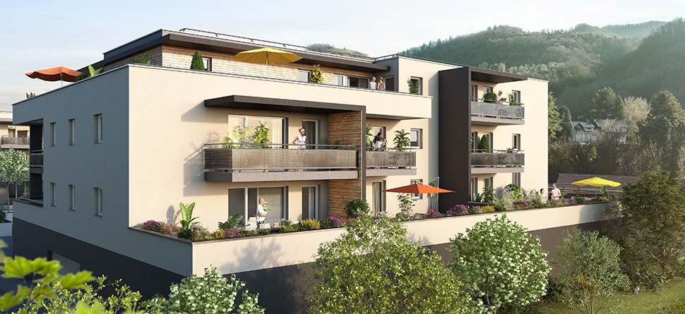 Programme immobilier VAL104 appartement à Murianette (38420) Bucolique, tout en restant connecté au centre urbain