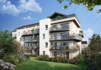 Programme immobilier OGI28 appartement à Divonne-Les-Bains (01220) À quelques pas du centre-ville