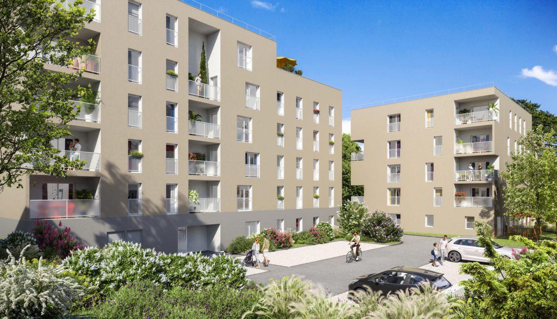 Programme immobilier Gleize(69400) Résidence à l'élégance discrète NP12