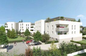 Programme immobilier PI27 appartement à Marseille 13ème (13013) Château Gombert