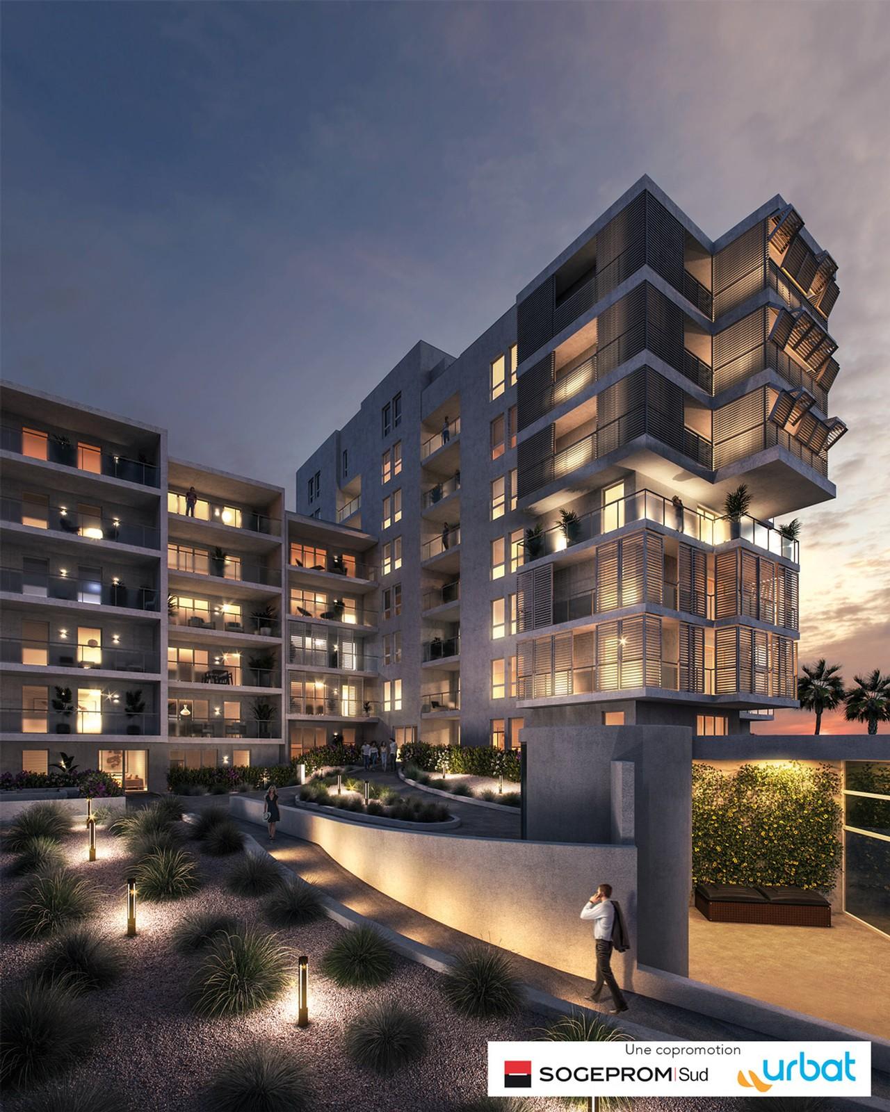 Programme immobilier URB22 appartement à Marseille 4ème (13004) Dans un cadre verdoyant