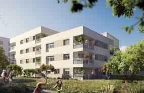 Programme immobilier ICA22 appartement à Bron (69500) Quartier nature et urbain en plein cœur de la métropole