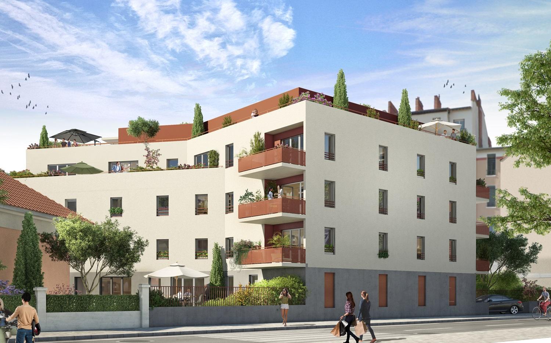 Programme immobilier DIA4 appartement à Villeurbanne (69100)