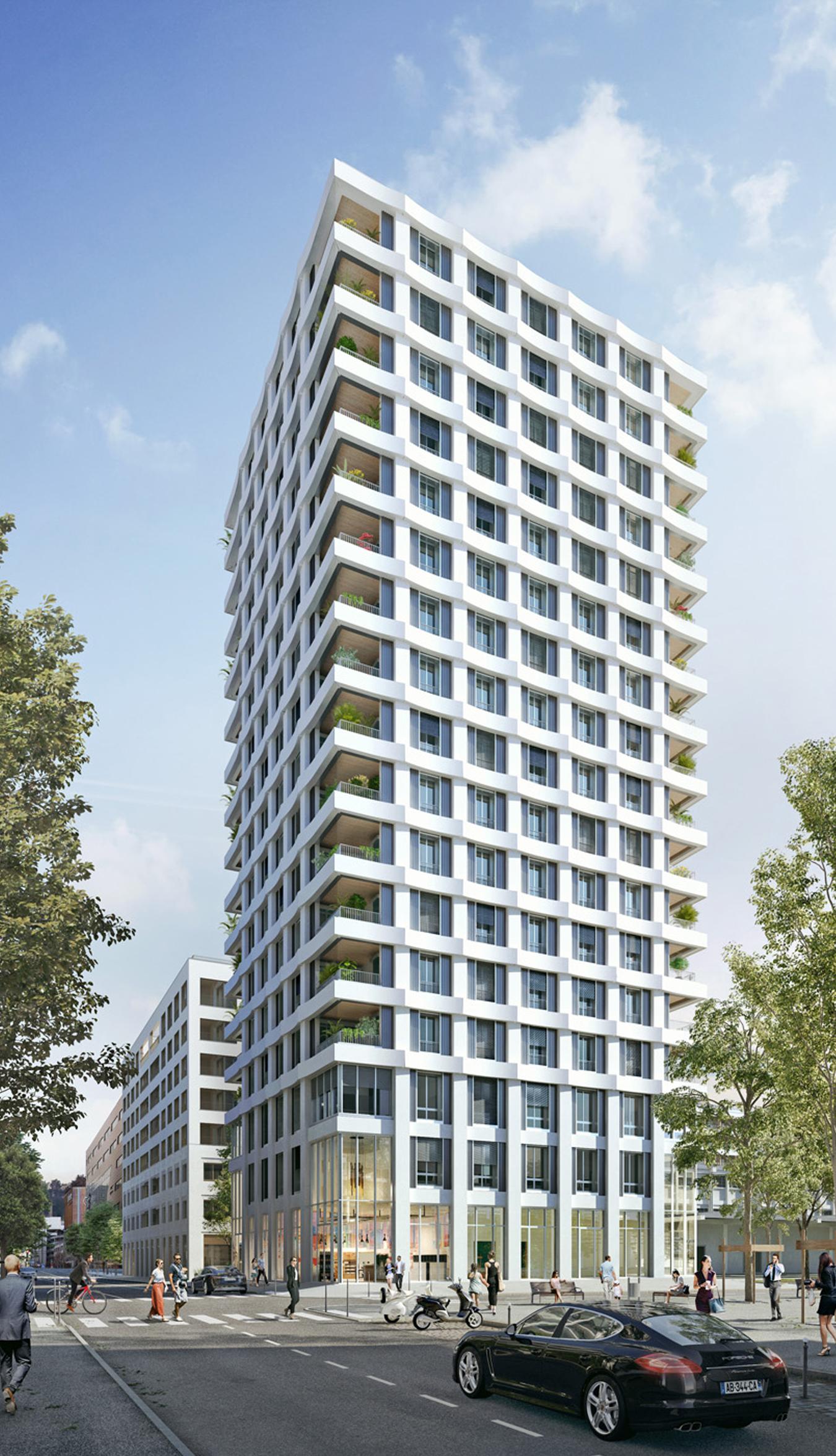 Programme immobilier ALT84 appartement à Lyon 2ème (69002) CONFLUENCE