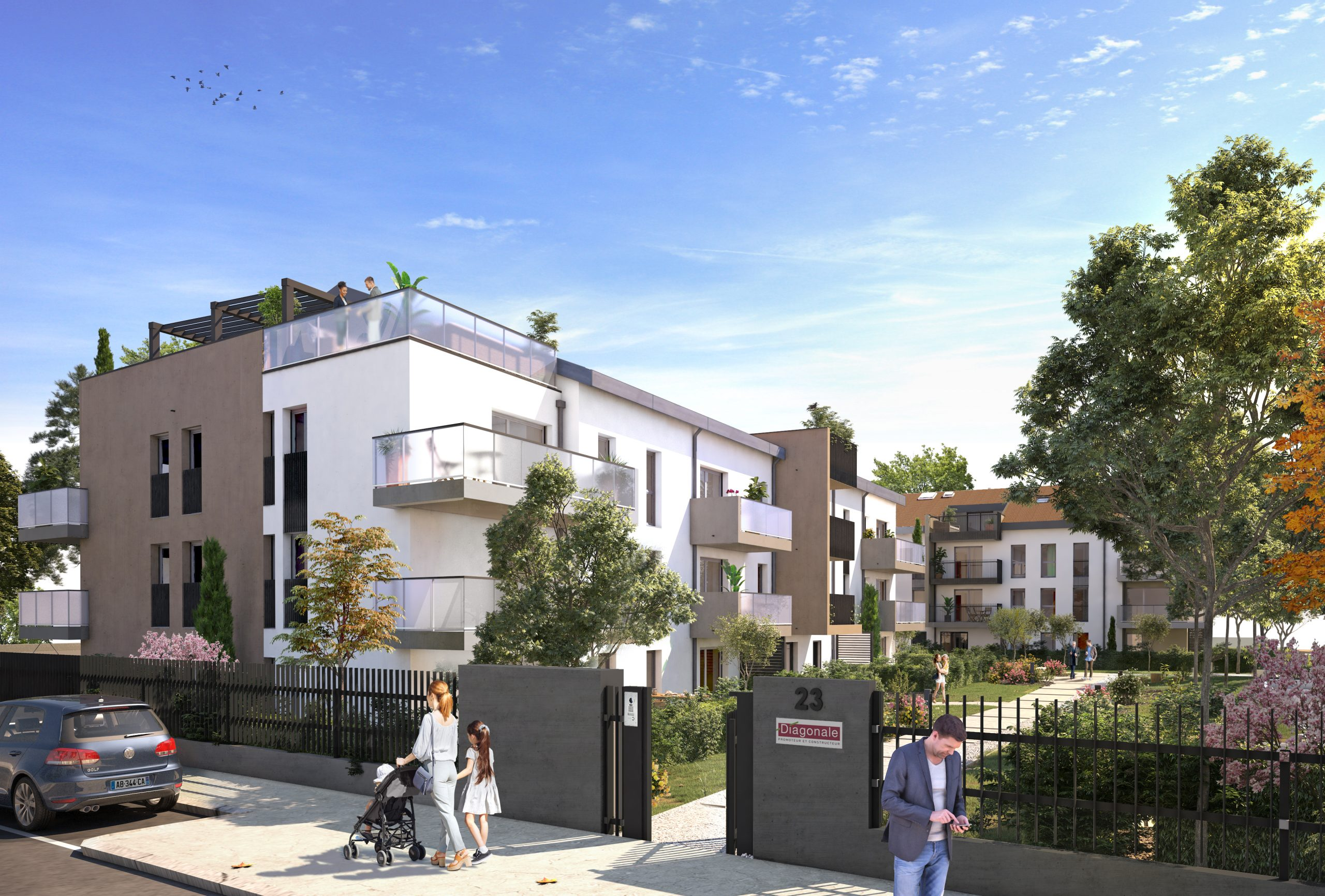 Programme immobilier Champagne-au-Mont-d'Or (69410)  VAL23