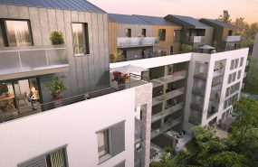 Programme immobilier DIA3 appartement à Villeurbanne (69100)