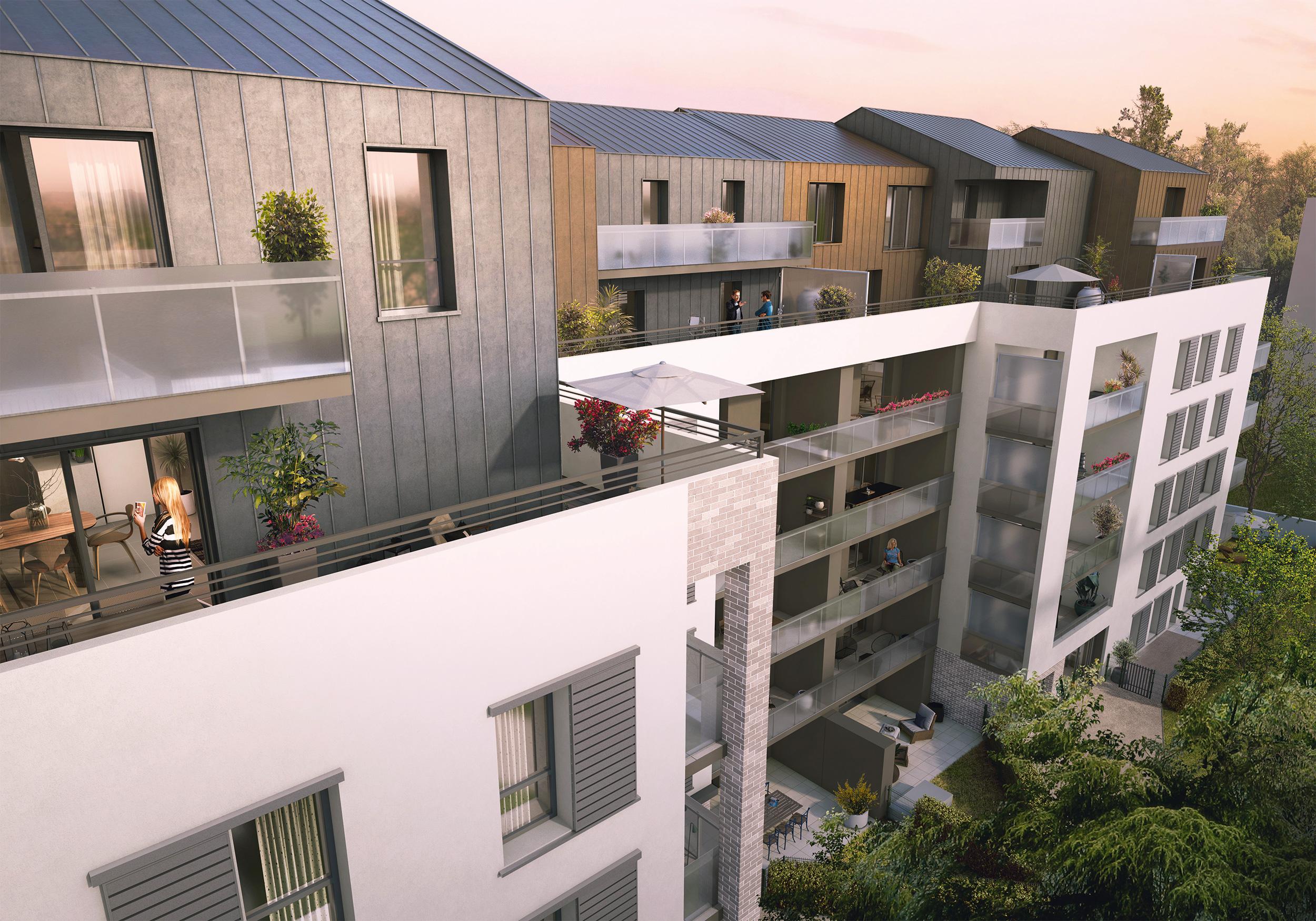 Programme immobilier Villeurbanne (69100)  KAB9