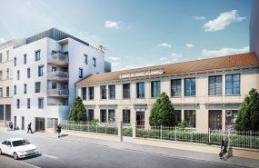 Programme immobilier NEO18 appartement à Villeurbanne (69100) Environnement résidentiel