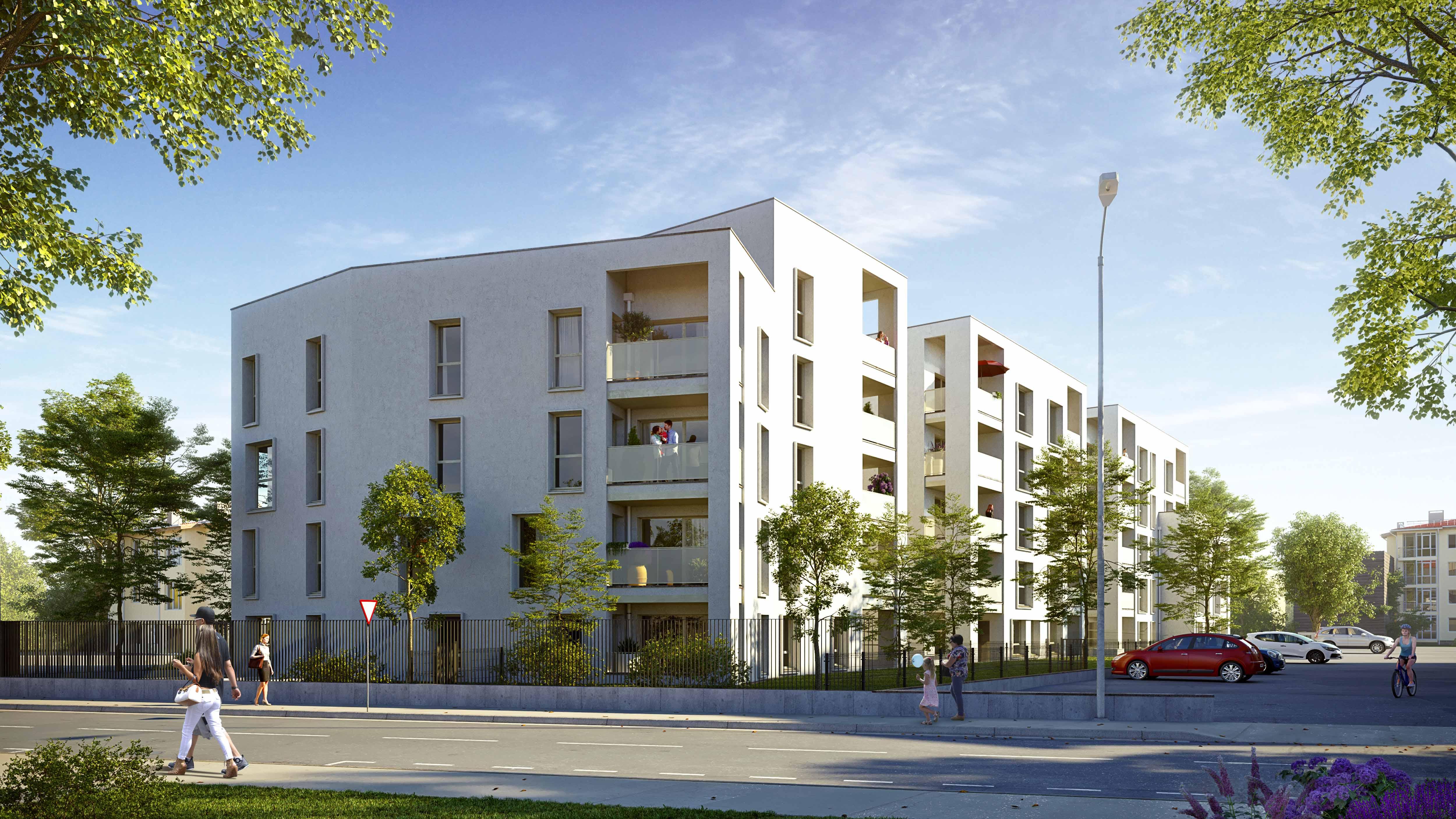 Programme immobilier Villefranche-sur-Saône (69400) Quartier calme à proximité du centre ville ALT94