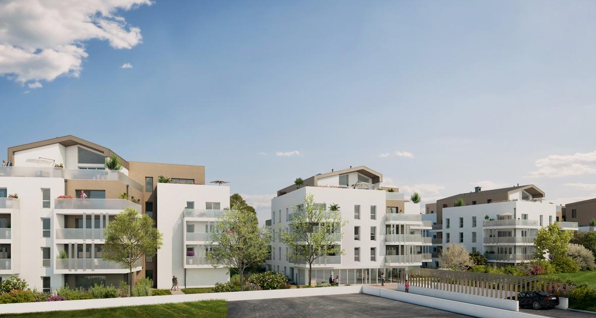 Programme immobilier 6ES2 appartement à Décines (69150) Un écrin en hyper-centre