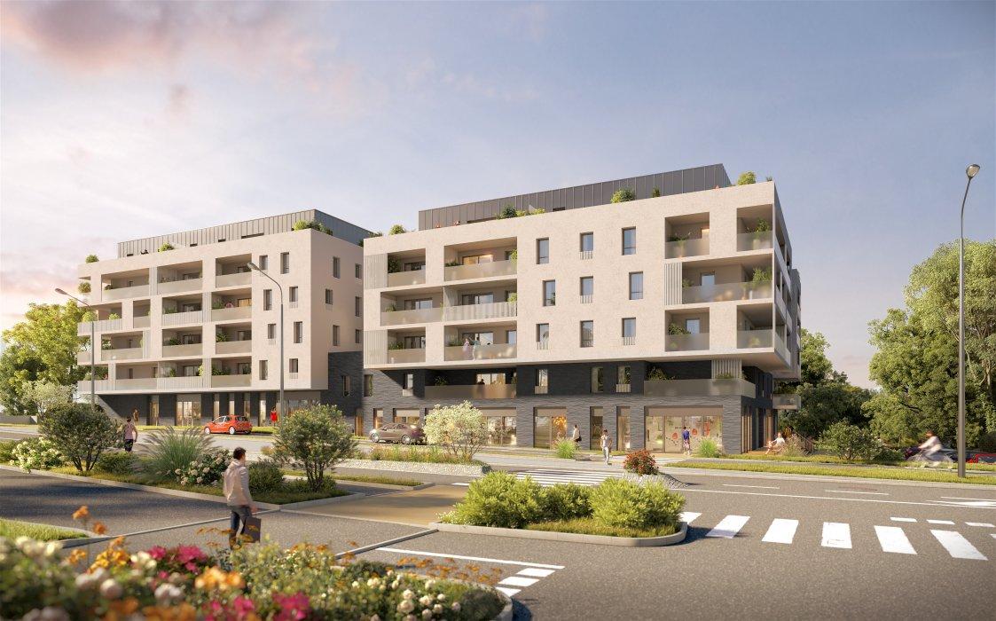 Programme immobilier VIN29 appartement à Saint-Genis-Pouilly (01630) Cadre splendide