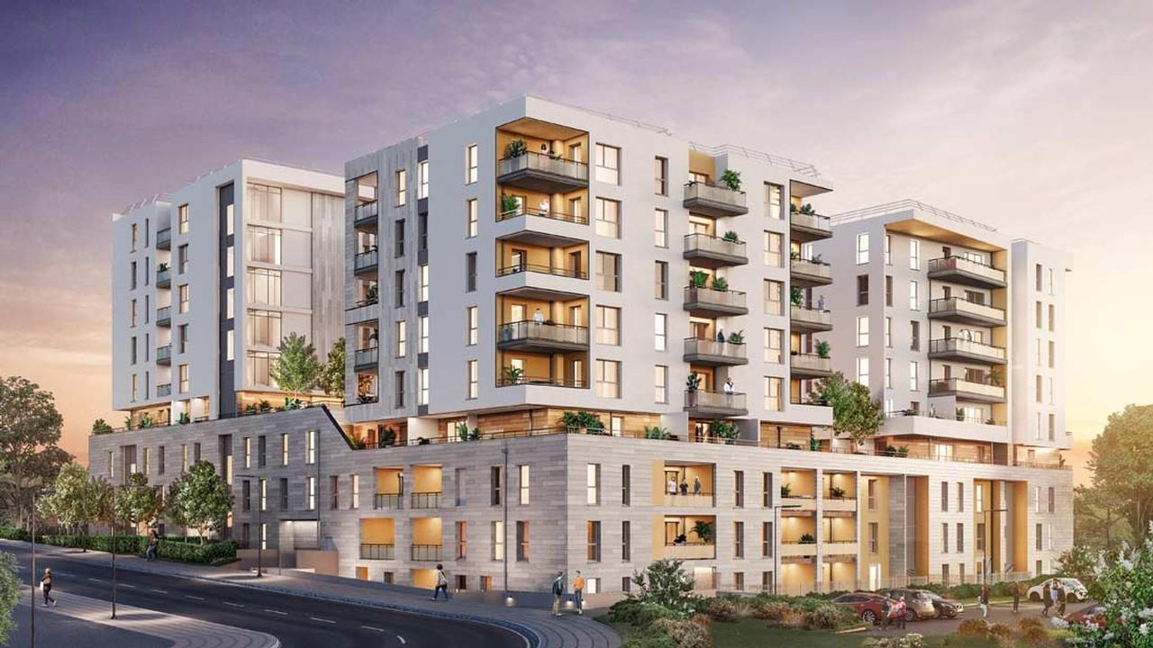 Programme immobilier URB25 appartement à Marseille 12ème (13012) Quartier résidentiel prisé de Beaumont