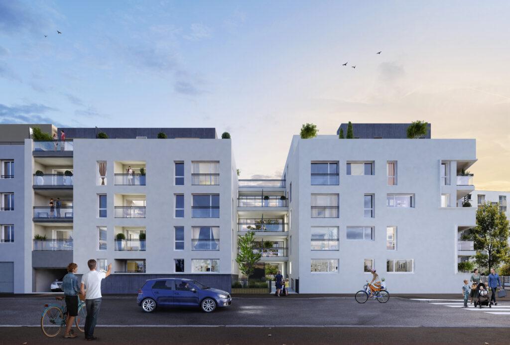 Programme immobilier Vénissieux (69200) Quartier en renouveau doté d'une bonne accessibilité CO12