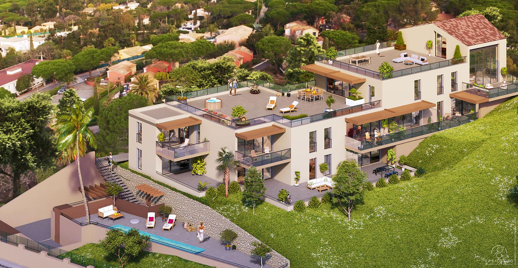 Programme immobilier Roquebrune sur Argens (83520) Située au cœur des Issambres PI31