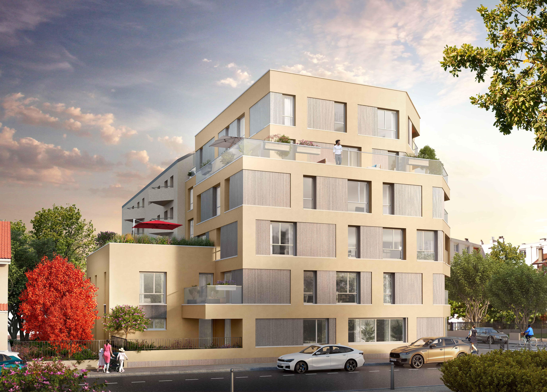 Programme immobilier Villeurbanne (69100) Agréable cadre de vie DIA4