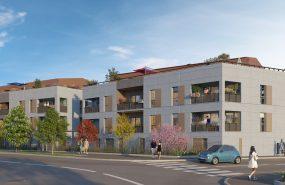 Programme immobilier CO18 appartement à Neuville-sur-Saône (69250) Entourée d'espaces végétaux